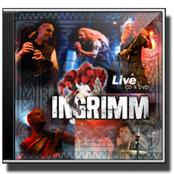 CD/DVD  INGRIMM -  Live